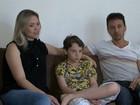 Família de garoto transplantado luta por tratamento: 'Brigando por vida'