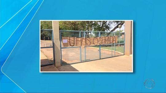 Prédios da UFMS e UEMS são ocupados em dois municípios de MS