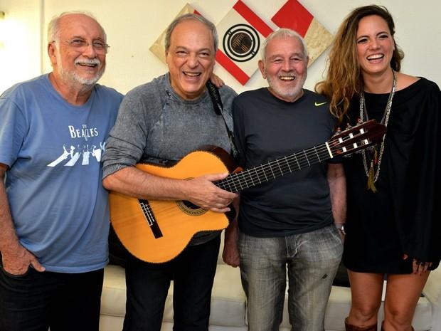 Toquinho celebra 50 anos em show no TCA (Foto: Cristina Granato/Divulgação)
