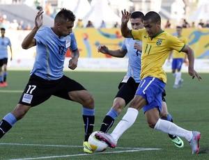 Brasil Uruguai Pan Futebol