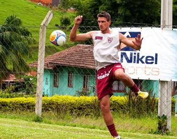 Lucas Campestrini Atlético de Ibirama (Foto: Orlando Pereira/CAHA)