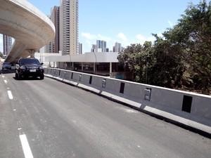 Fluxo foi liberado na manhã desta sexta-feira (Foto: Prefeitura de Fortaleza/Divulgação)
