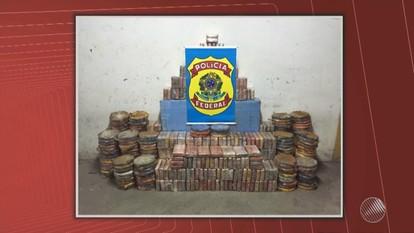 Polícia apreende mais de 800 quilos de cocaína em Lauro de Freitas