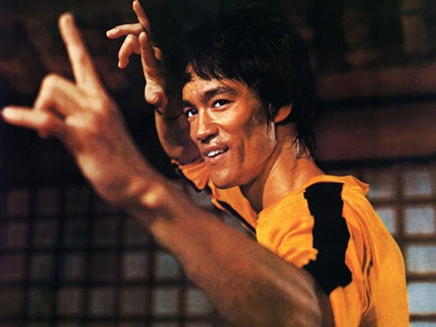 Bruce Lee em 'Jogo da morte' (Foto: Divulgação)