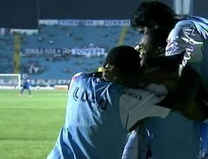 Jogadores do ABC comemoram gol (Foto: Reprodução/PFC)