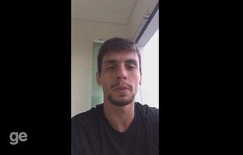 Em vídeo, Rodrigo Caio deseja força a acreano com doença autoimune; veja