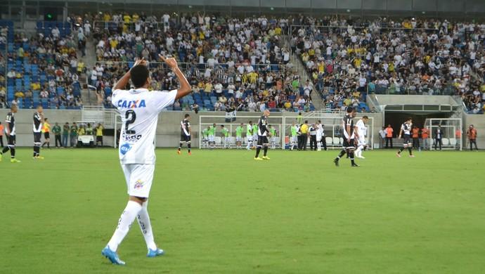 Madson, lateral-direito do ABC (Foto: Jocaff Souza/GloboEsporte.com)