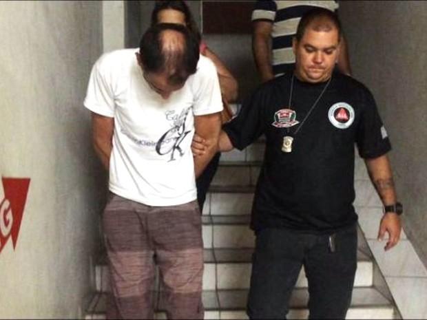 Ex-marido confessou ter assassinado a estudante (Foto: Bruno Lima / Jornal A Tribuna de Santos)