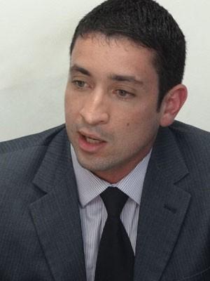 Delegado Carlos Couto (Foto: Luna Markman / G1)