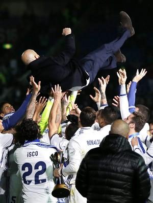 Zidane técnico Real Madrid