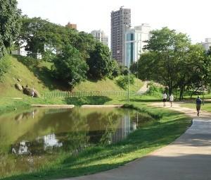 Parque Campolim em Sorocaba, SP (Foto: Viviane Gonçalves / G1)