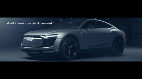 Audi mostra como será seu 2º carro 100% elétrico, esperado para 2019