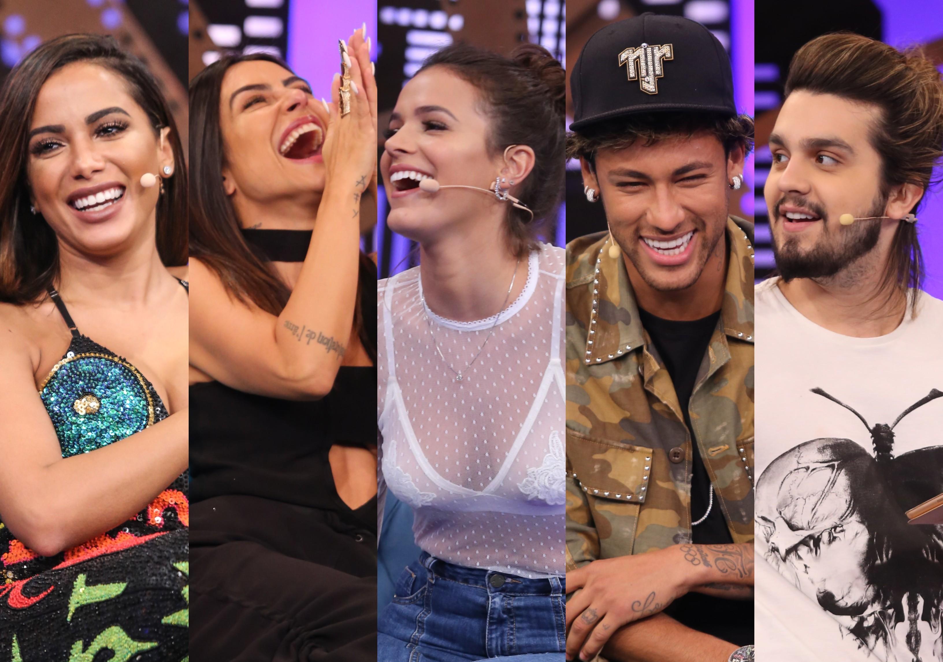 Anitta, Cleo, Bruna, Neymar e Luan: os cinco episdios mais votados que esto com sinal aberto no Multishow Play (Foto: Multishow)