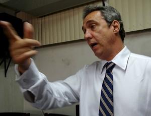 Evandro Carvalho, presidente da Federação Pernambucana de Futebol (Foto: Bruno Marinho)