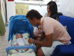 rogério náutico filho (Foto: Lula Moraes / GloboEsporte.com)
