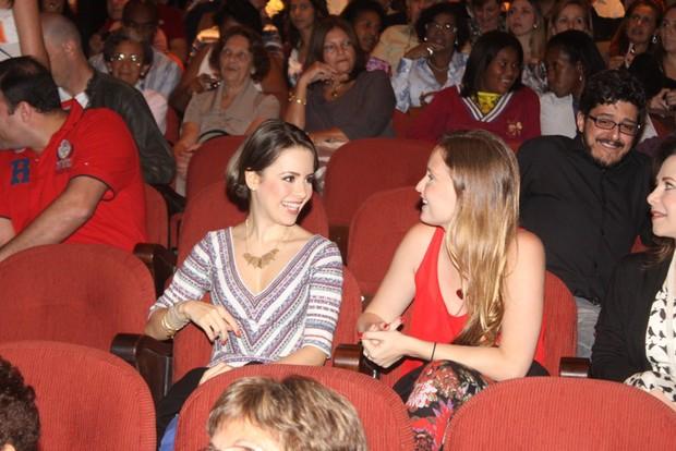 Sandy e Fernanda Rodrigues (Foto: Fábio Martins/Agnews)