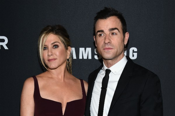 A atriz Jennifer Aniston e seu marido, o ator Justin Theroux (Foto: Getty Images)