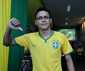 Matheus Cabral da Silva, 20 anos, auxiliar administrativo