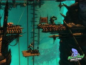 Cena de 'Oddworld: New 'n' Tasty', para PS4 (Foto: Divulgação)