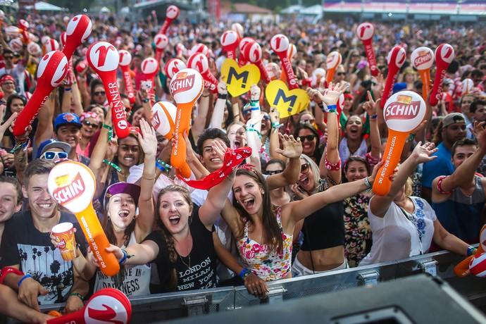 Público no Planeta (Foto: Jefferson Bernardes / Agência Preview)