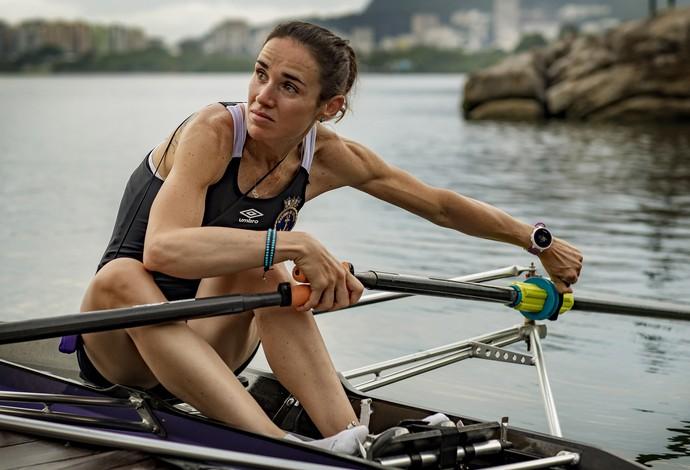 Fabiana Beltrame - remo - Brasil - Vasco da Gama (Foto: Leandra Benjamin)