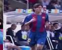 Barcelona comemora 12 anos da estreia de Messi na equipe profissional