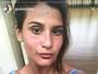 Giulia Costa exibe boa forma e bronzeado no 1º dia das férias