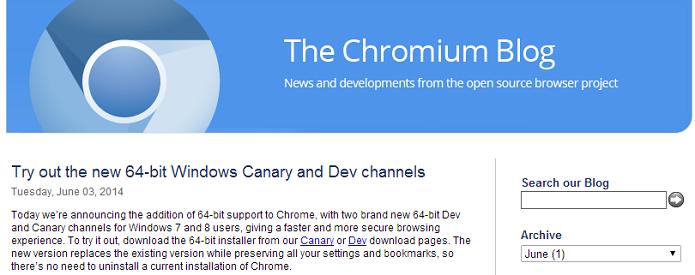 Google anunciou novo browser (Foto: Reprodução/Chromium Blog)