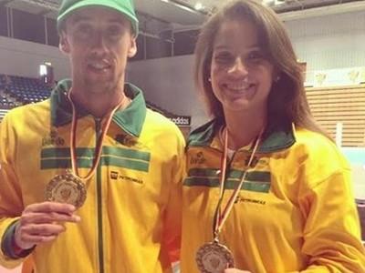 Henrique Precioso e Raphaella Galacho representam seletiva brasileira para o Pan (Foto: Reprodução / Instagram )