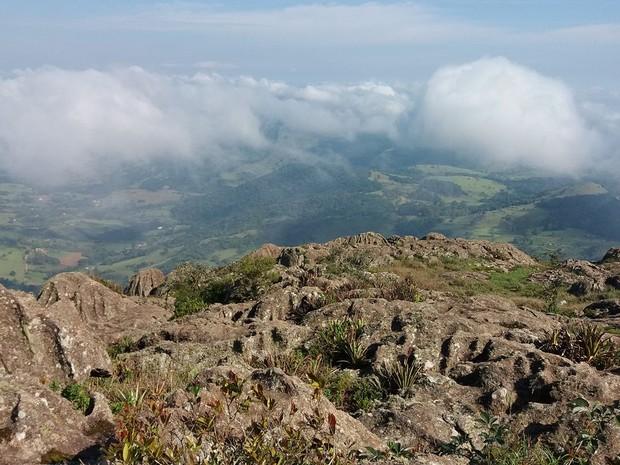 APA Santuário Ecológico da Pedra Branca visa proteger área em Caldas (MG) (Foto: Julia Beijo)