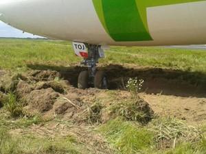 TAP alega que incidente ocorreu quando piloto taxiava avião. (Foto: W.C./ Arquivo Pessoal)
