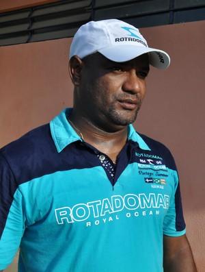 Cícero Monteiro - Treinador do Picos (Foto: Renan Morais/GLOBOESPORTE.COM)