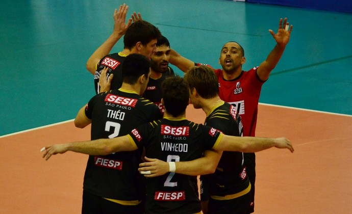Sesi Vôlei Campeonato Paulista (Foto: Danilo Sardinha/GloboEsporte.com)