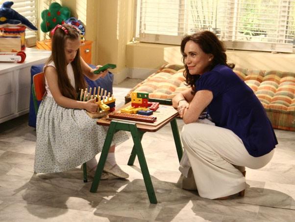 Clara e Helena (Foto: Páginas da Vida/TV Globo)