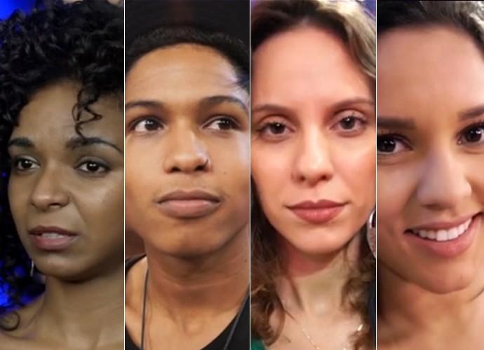 Representantes dos quatro times definem o The Voice em suas vidas (Foto: The Voice Brasil / Gshow)