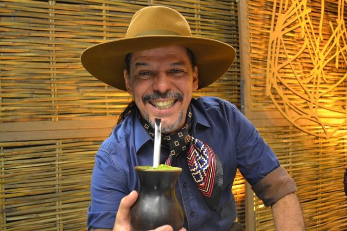 Neto Fagundes Galpão Crioulo (Foto: Gabriela Haas/RBS TV)