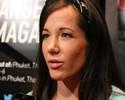 Cris Cyborg e Angela Magaña brigam em encontro de lutadores do UFC