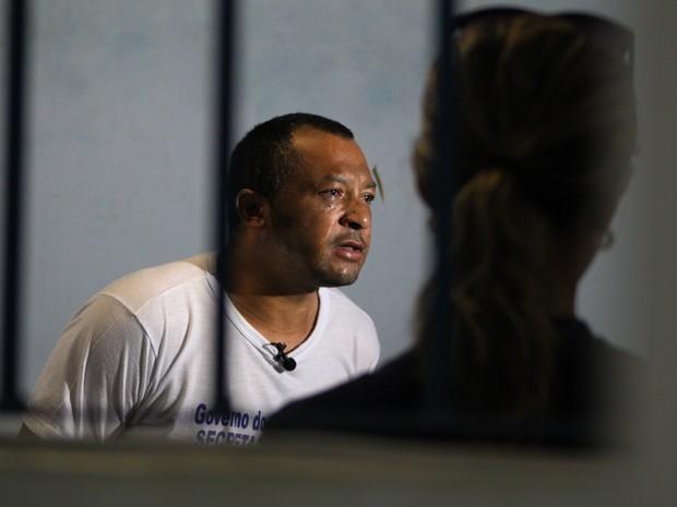 Suspeito alega que não tem envolvimento no estupro contra as meninas (Foto: Fernando Brito/G1)