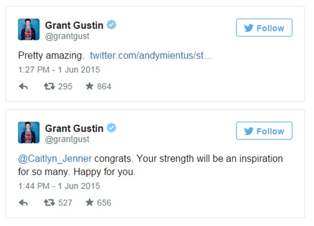 Grant Gustin (Foto: Reprodução / Twiiter)