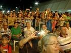 Padre Fábio de Melo atrai multidão durante show no Palmas Capital da Fé