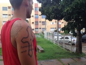 Após quatro anos na academia, jovem é barrado por 'parecer marginal' (Foto: Fernando Brito/G1)