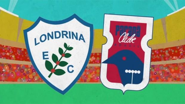 RPC transmite Londrina X Paraná Clube, nesta quarta (24) (Foto: Divulgação)