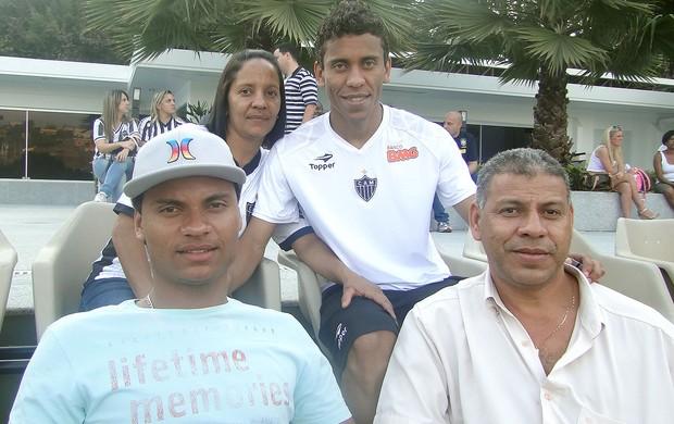 Familia Marcos Rocha, Atlético-MG (Foto: Lucas Catta Prêta)