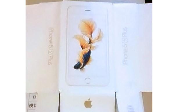 Suposta caixa do iPhone 6S aparece em imagens vazadas (Foto: Reprodução/The Telegraph)