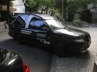Carro funerário chega a apartamento de mulher de José Wilker, no Rio