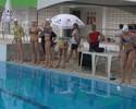 Rússia e Brasil se apresentam em prévia olímpica do nado sincronizado
