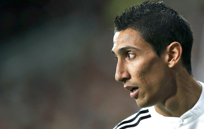 Di Maria no Real Madrid (Foto: AP)