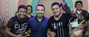Programa mistura boi com pagode e anuncia vencedor do Festival Novos Talentos do Sesc (Katiúscia Monteiro/ Rede Amazônica)