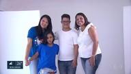 Ônibus e outdoors no Recife recebem fotos de crianças e adolescentes com Síndrome de Down