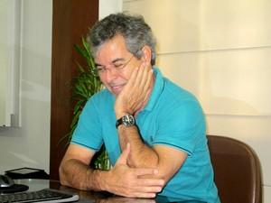 Senador Jorge Viana comenta eleição no Senado (Foto: Rayssa Natani/G1)